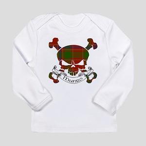 Munro Tartan Skull Long Sleeve Infant T-Shirt
