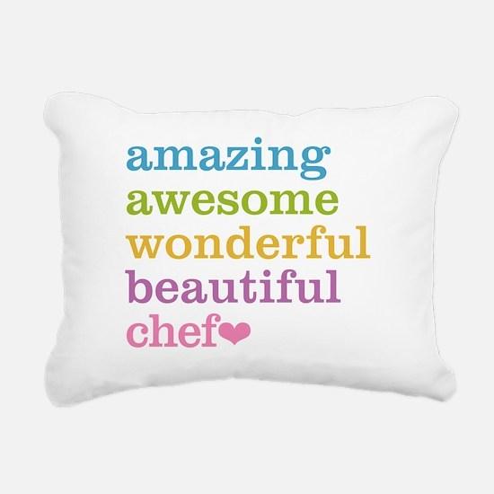 Cute Catering Rectangular Canvas Pillow