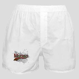 Munro Tartan Grunge Boxer Shorts