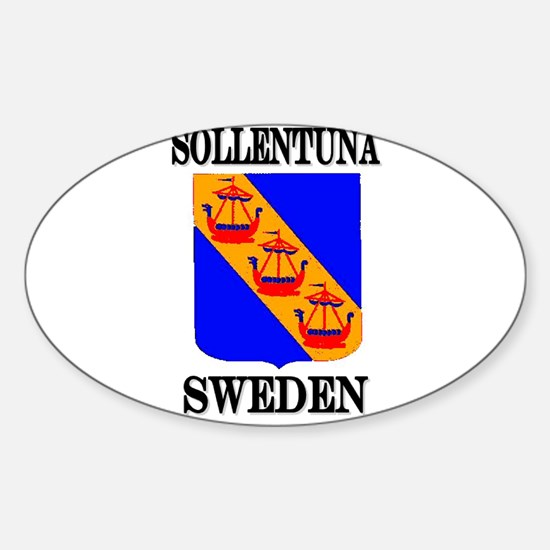 The Sollentuna Store Oval Decal