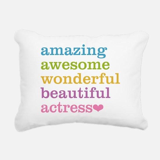 Cute Actor Rectangular Canvas Pillow