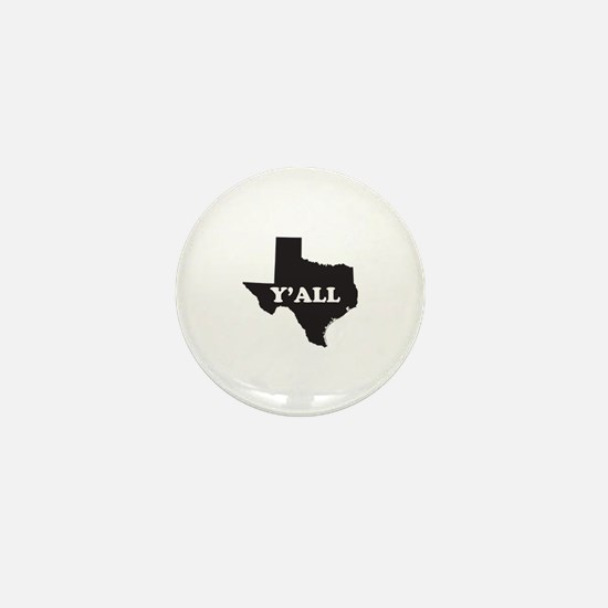 Texas Yall Mini Button