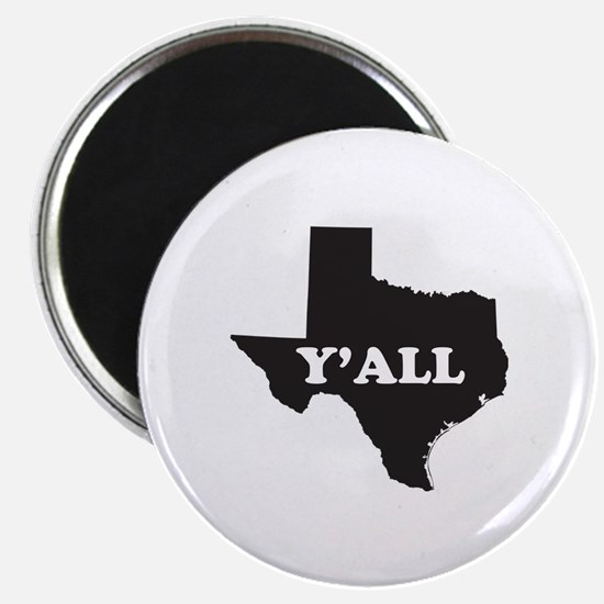 Texas Yall Magnet