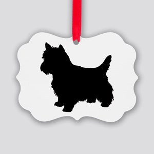 Cairn Terrier Black 2 Ornament