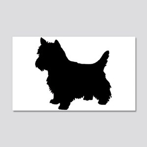 Cairn Terrier Black 2 Wall Decal