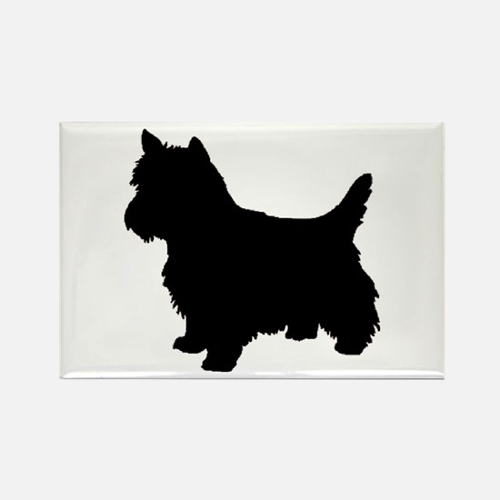 Cairn Terrier Black 2 Magnets