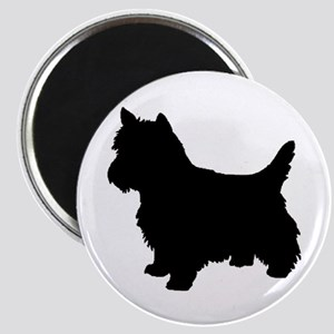 Cairn Terrier Black 2 Magnets