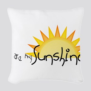 Sunshine4 Woven Throw Pillow