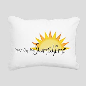 Sunshine4 Rectangular Canvas Pillow