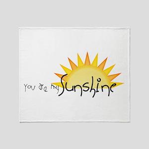 Sunshine4 Throw Blanket