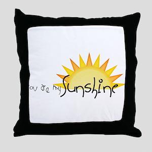 Sunshine4 Throw Pillow
