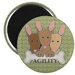 "Agility Pups 2.25"" Magnet"