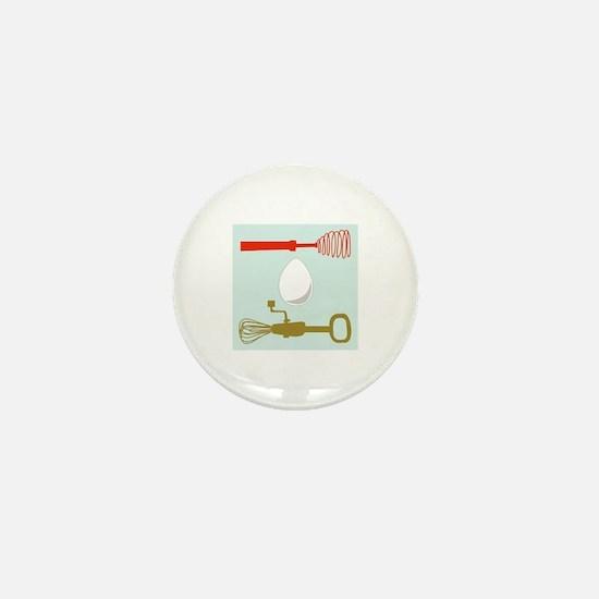 Egg Beaters Mini Button