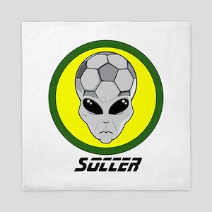 Soccer head Alien Queen Duvet