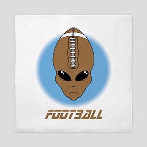 football head alien Queen Duvet
