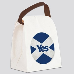 Yes to an Indepedent Scotland 'Sa Canvas Lunch Bag