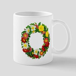 Rose Wreath by Redoute Mug