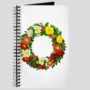 Rose Wreath by Redoute Journal