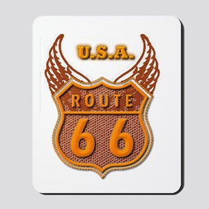 Route 66 Scenic Sign Mousepad