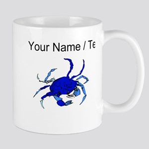 Custom Blue Crab Mugs