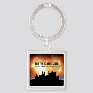 End The Islamic State Keychains