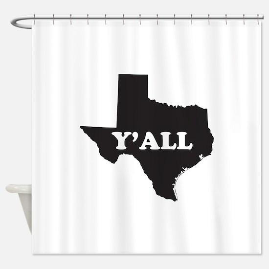 Unique South Shower Curtain