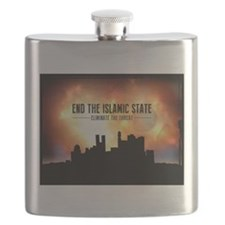 End The Islamic State Flask