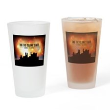 End The Islamic State Drinking Glass