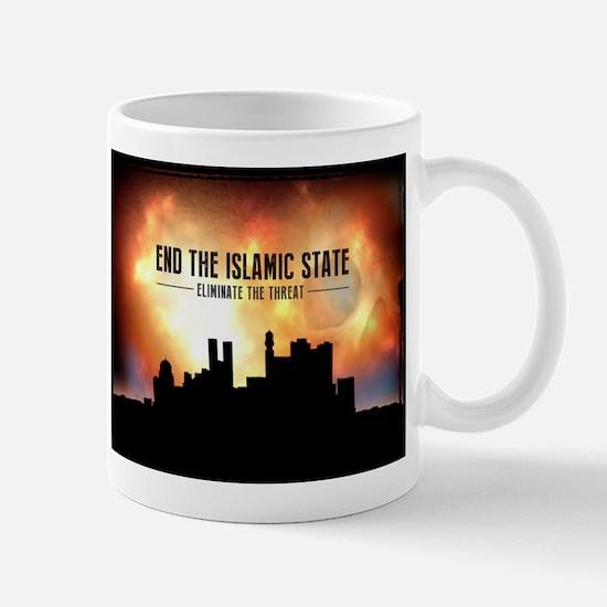 End The Islamic State Mugs
