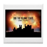 End The Islamic State Tile Coaster