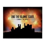 End The Islamic State Throw Blanket