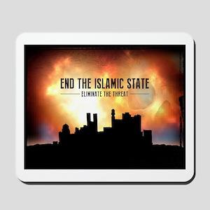 End The Islamic State Mousepad