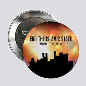 """End The Islamic State 2.25"""" Button"""