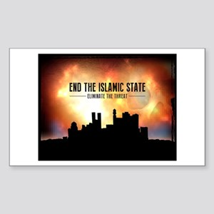 End The Islamic State Sticker