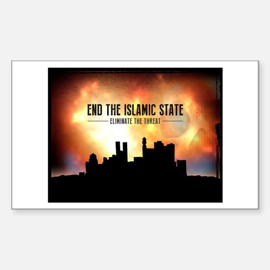 End The Islamic State Decal