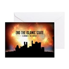 End The Islamic State Greeting Cards