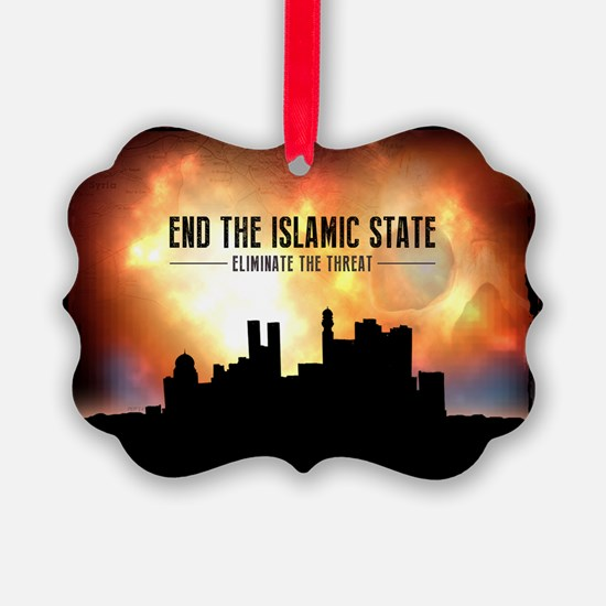 End The Islamic State Ornament