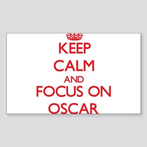 Keep Calm and focus on Oscar Sticker