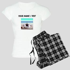 Custom Beach Crab Pajamas