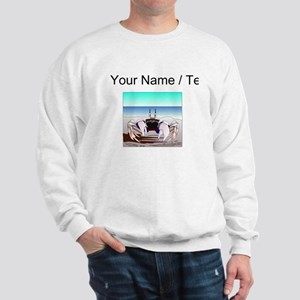 Custom Beach Crab Sweatshirt