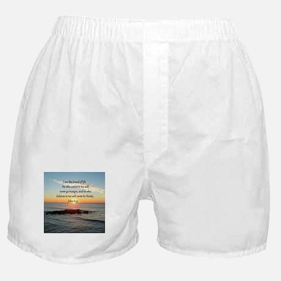 JOHN 6:35 Boxer Shorts
