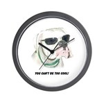 You Can't be too cool! Wall Clock