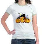 Halloween Ringer T-shirt