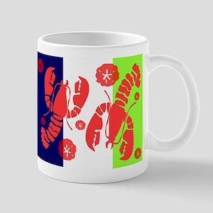 Lobster Beach Mugs