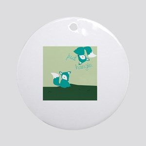 Just Hangin Ornament (Round)