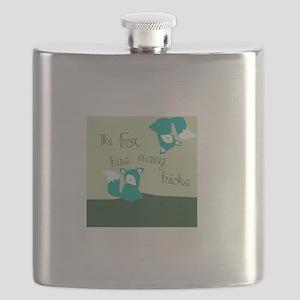 Fox Has Many Tricks Flask