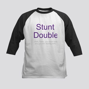 Stunt Double - Twins -Kids Baseball Jersey