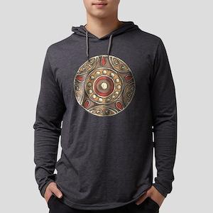 Patterned Circle Long Sleeve T-Shirt