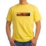 Artemis Zuna Logo Yellow T-Shirt