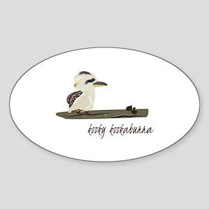 Kooky Kookaburra Sticker